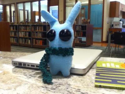 Studious rabbit