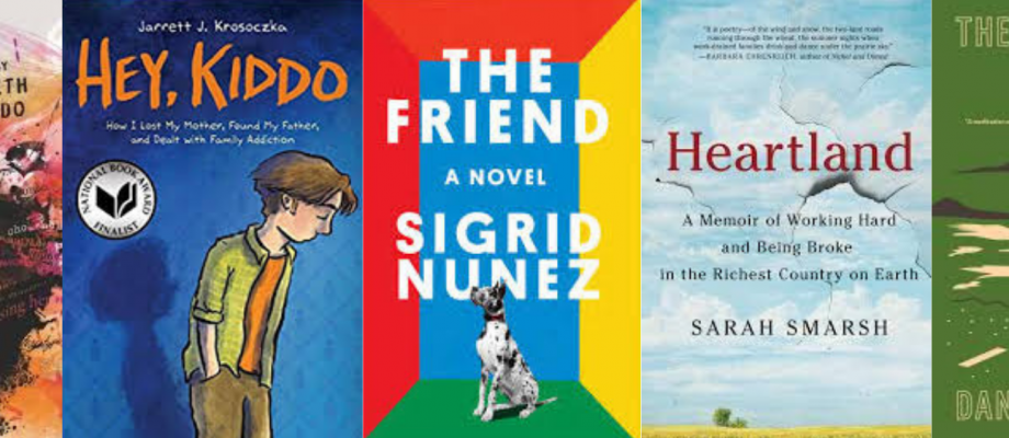 Fast Five: 2018 National Book Award Nominees, Finalists, and Winners